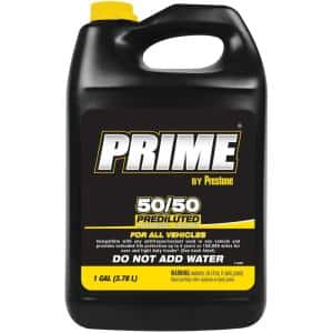 Prime 50/50 Pre-Mix Extended Life All Makes All Models Antifreeze + Coolant
