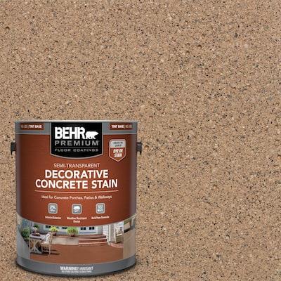 1 gal. #DCS-800 Old Adobe Semi-Transparent Flat Interior/Exterior Decorative Concrete Stain