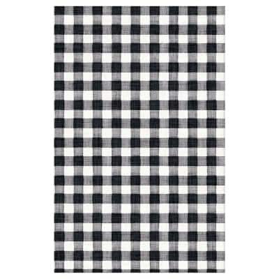 54 in. x 102 in. Multi-Colored Paper Checkered Fall Harvest Market Table Cover (3-Pack)