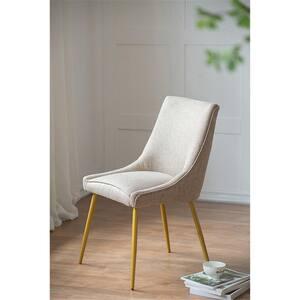 Khakl Fabric Dining Chair (Set of 2)