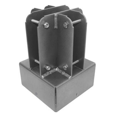 6 in. x 6 in. Aluminum Post Top Connector