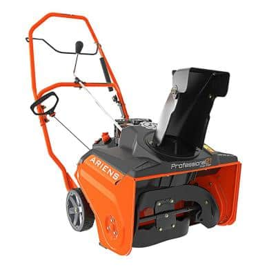 Professional SS 21 in. 208cc Single-Stage Remote Chute, Recoil-Start Gas Snow Blower