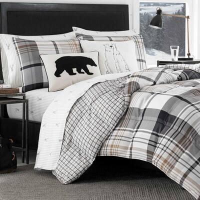 Normandy Plaid Comforter Set