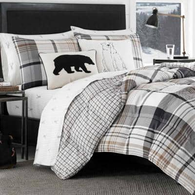 Normandy Plaid Comforter Set
