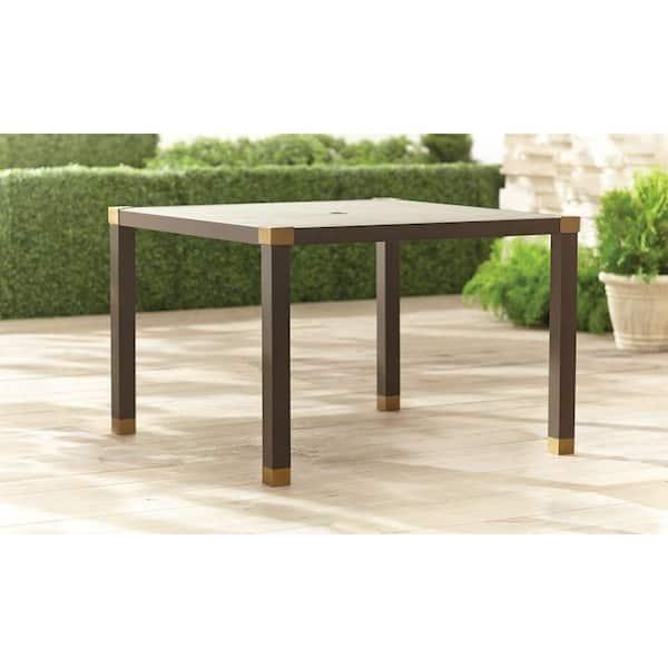 Brown Jordan Form 42 In Square Patio, Brown Jordan Lawn Furniture