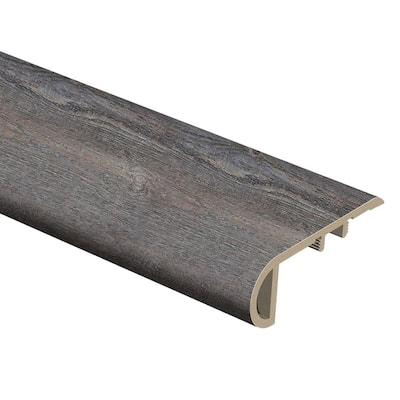 Westport Oak 3/4 in. Thick x 2-1/8 in. Wide x 94 in. Length Vinyl Stair Nose Molding