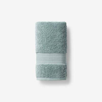 Legends Regal Spa Green Solid Egyptian Cotton Hand Towel