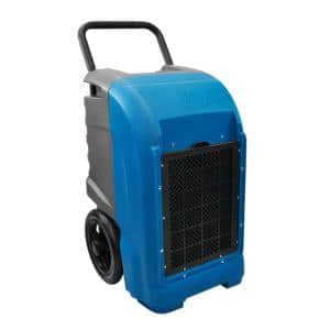 125-Pint Commercial Dehumidifier with Automatic Purge Pump and Drainage Hose