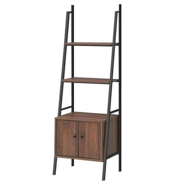 Bookcase 3 Shelves Sideboard Storage Furniture Wooden Stand Shelves Home
