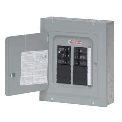 BR 100 Amp 10 Space 20 Circuit Indoor Main Breaker Renovation Loadcenter Value Pack (Includes 2-BR115 and 1-BR230)