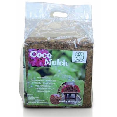 Coco Mulch 5 kg Compressed All Natural Coconut Husk Mulch