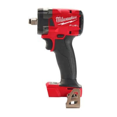 M18 FUEL GEN-3 18-Volt Lithium-Ion Brushless Cordless 1/2 in. Compact Impact Wrench with Friction Ring (Tool-Only)