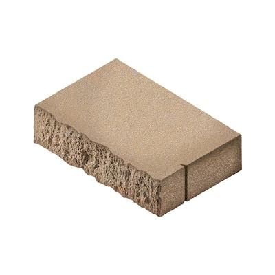 18 in. W x 13.5 in. L x 3 in. H Sandstone Rectangular Concrete Wall Cap