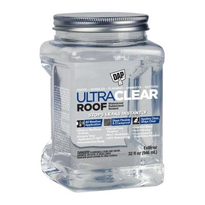 Ultra-Clear 32 oz. Clear Roof Sealant (6-Pack)