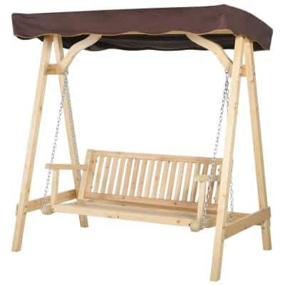 Outsunny Patio Swings Chairs, Patio Swing Home Depot