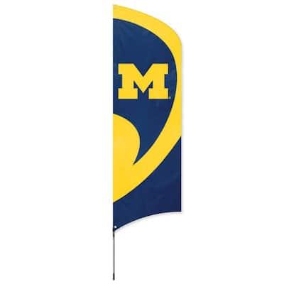 Michigan Wolverines Tall Team Flag
