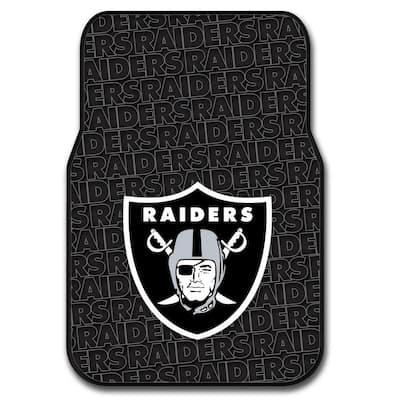 Oakland Raiders Multi-Color Rubber Car Front Floor Mats