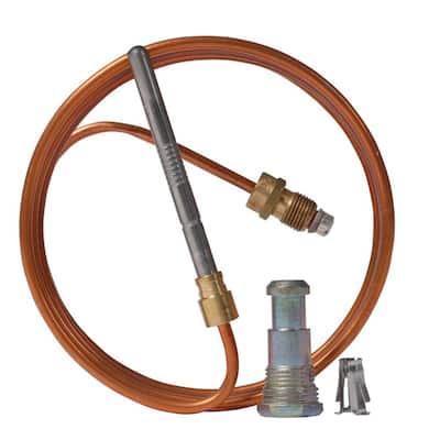 30 in. Copper Universal Thermocouple