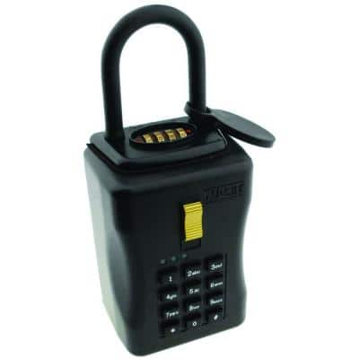 Eyecon Wi-Fi Enabled Smart Lock Box with Hanging Shackle for Key Storage