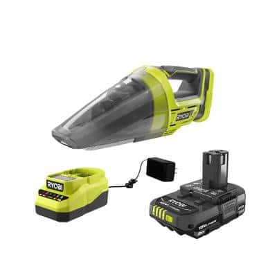 ONE+ 18V Cordless Hand Vacuum with 2.0 Ah Battery and Charger