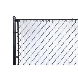 M-D 6 ft. Privacy Fence Slat White
