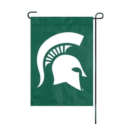 1 ft. x 1.5 ft. Nylon Michigan State Spartans Premium Garden Flag