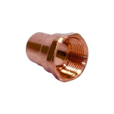 3/4 in. Copper Cup x FIP Female Adapter (25-Pack)