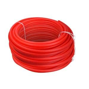 1/2 in. x 1200 ft. PEX Tubing Oxygen Barrier Radiant Heating Pipe in Red