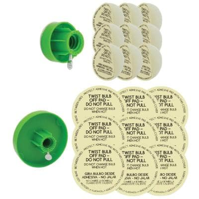 Universal Light Bulb Changer with Replacement Pads