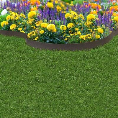 20 ft. x 3.5 in. Rubber Garden Edging