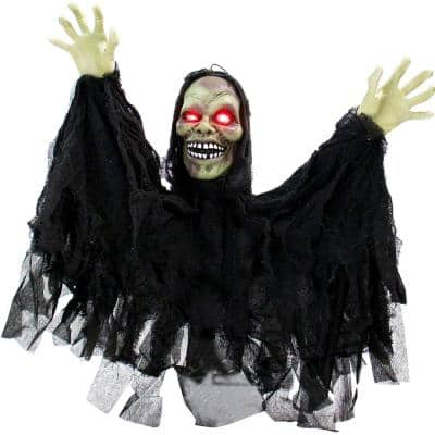 24 in. Touch Activated Pop-Up Animatronic Ghoul