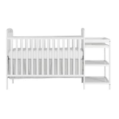 Anna White 4-in-1 Crib and Changing Table Combo