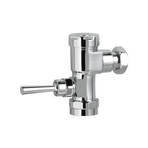Manual FloWise 1.28 GPF Valve Only Retrofit Toilet Flush Valve in Polished Chrome