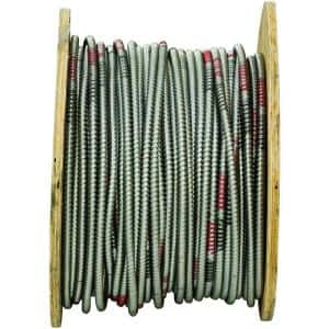 4/1 x 500 ft. Bare Armored Ground Cable