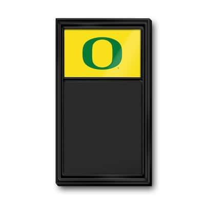 """31.0"""" x 17.5"""" Oregon Ducks Plastic Chalkboard"""