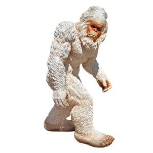 28 in. H Abominable Snowman Yeti Large Garden Statue
