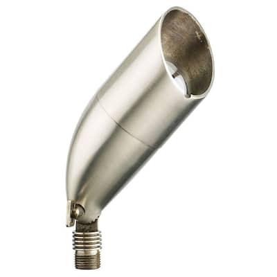 1-Light Stainless Steel Die-Cast Brass Up Light