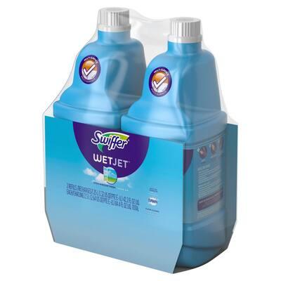 WetJet 42 oz. Multi-Purpose Floor Cleaner Refill with Open Window Fresh Scent (2-Pack)