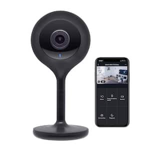 Look 1080p Smart Wi-Fi Security Camera HD, Black