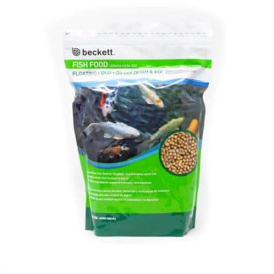2 lbs. Floating Fish Food for Gold Fish and Koi
