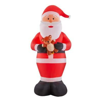 12 ft. Giant Inflatable Santa with LED Lights