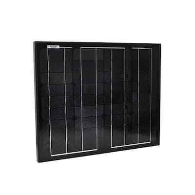 30-Watt Monocrystalline Solar Panel