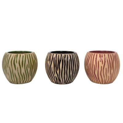 9 oz. Tropical Stripes Citronella Candle (3-Pack)
