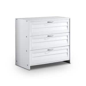 Bradford White 3-Drawer Chest 27.5 in. H x 30 in. W x 15.25 in. D