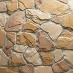 Field Stone Burlwood Flats 10 sq. ft. Handy Pack Manufactured Stone
