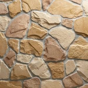 Field Stone Burlwood Flats 150 sq. ft. Bulk Pallet Manufactured Stone