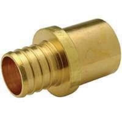 1/2 in. Barb x 1/2 in. Male Sweat Copper PEX Sweat Adapter