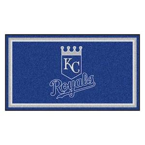 MLB - Kansas City Royals 3 ft. x 5 ft. Ultra Plush Area Rug