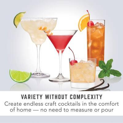 Rum Breeze 6-Peice Clear Plastic Cocktail Mix Capsules