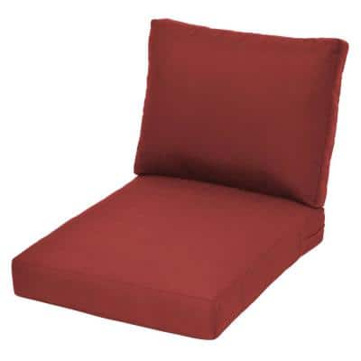 Beverly Chili Replacement Outdoor Lounge Chair Cushion